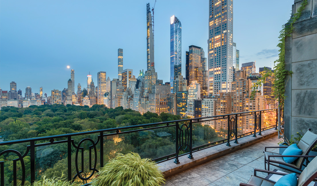 Rare Corner Duplex Penthouse at 15 CPW with Private In-House Chef