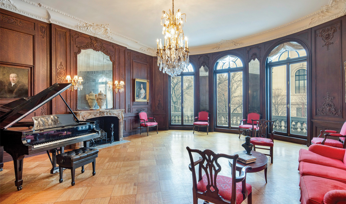 Gilded Age Fifth Avenue Mansion