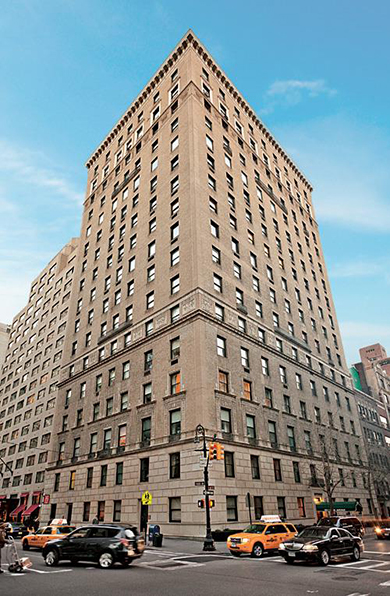 Featured Managed Building, 550 Park Avenue