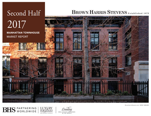 Manhattan Townhouse Market Report: Second Half 2017
